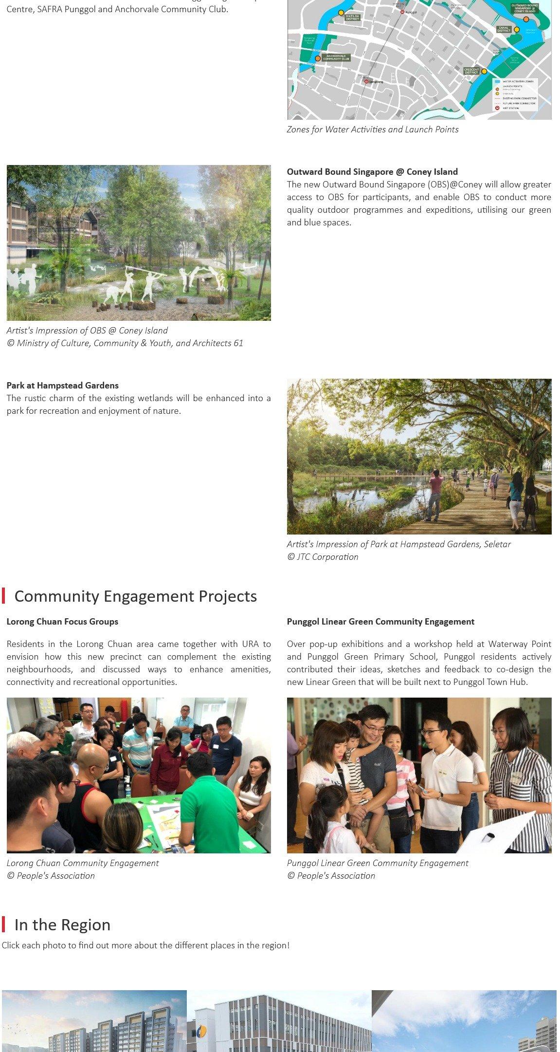 URA Master Plan - North-East Region, where the familiar meets the future 10